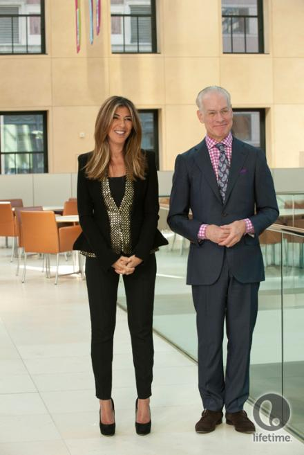 Nina Garcia and Tim Gunn in Project Runway Season 11, episode 11