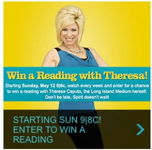 Win a reading with Long Island Medium Theresa Caputo
