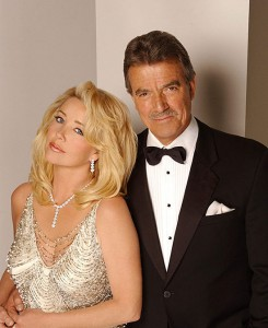 Melody Thomas Scott Eric Braeden The Young and the Restless