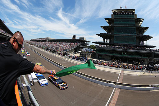 Brickyard 400 TV schedule