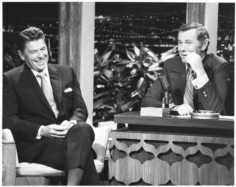 Ronald Reagan Johnny Carson TCM