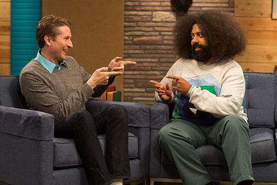 Scott Aukerman Reggie Watts Comedy Bang Bang IFC