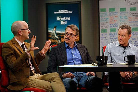 Jim Rash Vince Gilligan Bryan Cranston The Writers Room Sundance Channel