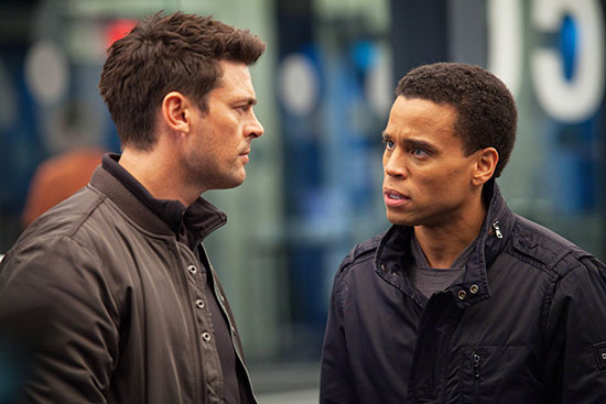 Karl Urban Michael Ealy Almost Human FOX