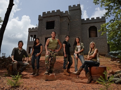 The Bruns family, stars of NGC's Doomsday Castle