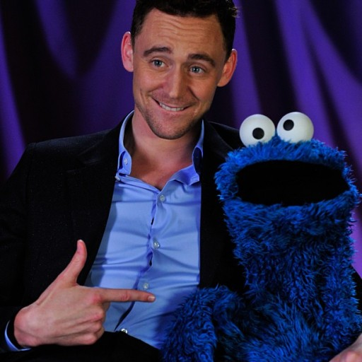 PBS Tom Hiddleston Cookie Monster