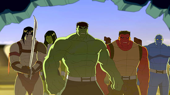 Hulk and the Agents of S.M.A.S.H. Disney XD