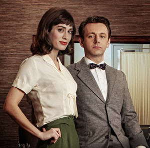 Lizzy Caplan Michael Sheen Masters of Sex Showtime
