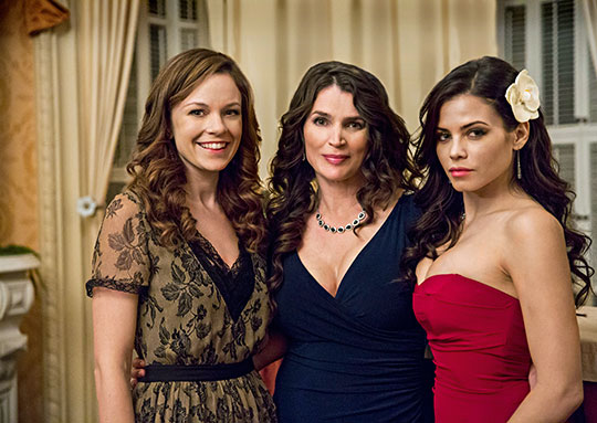 Rachel Boston Julia Ormond Jenna Dewan Tatum Witches of East End Lifetime