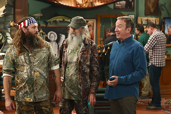 Duck Dynasty Last Man Standing Willie Si Tim Allen