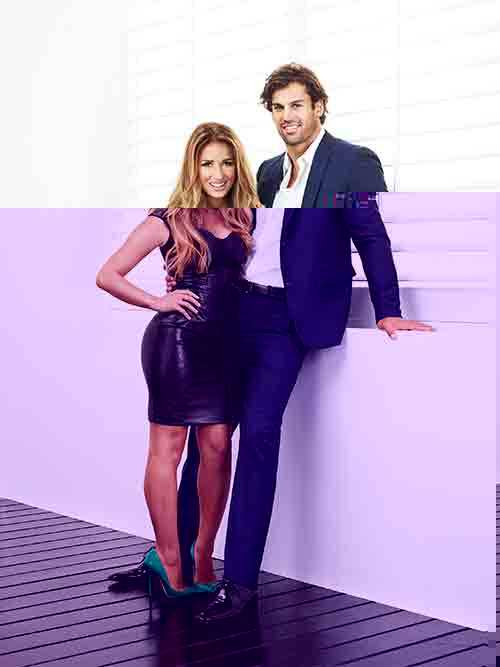 "Hot photos of Eric Decker and Jessie James for E! new reality series ""Eric & Jessie: Game On"" beginning Sept. 29"