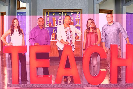 Teach CBS Queen Latifah