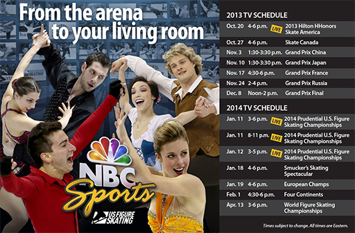 US Figure Skating Championships TV schedule 2014