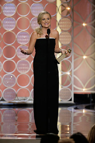 Amy Poehler wins Golden Globe