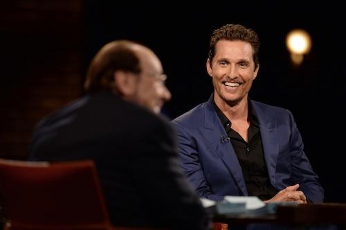 Inside the Actors Studio Matthew McConaughey