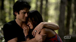 The Vampire Diaries Season 6 Damon and Elena