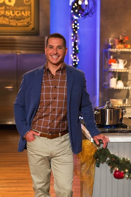 Holiday Baking Championship host Bobby Deen
