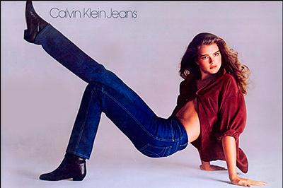 Brooke Shields Calvin Klein ads