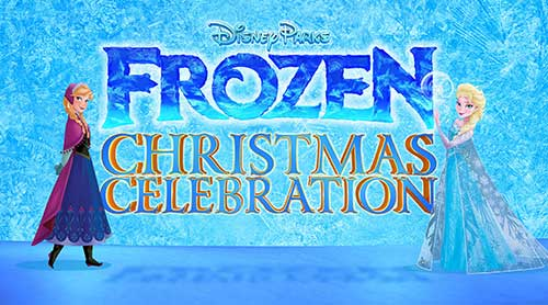Disney Paarks Frozen Christmas Celebration