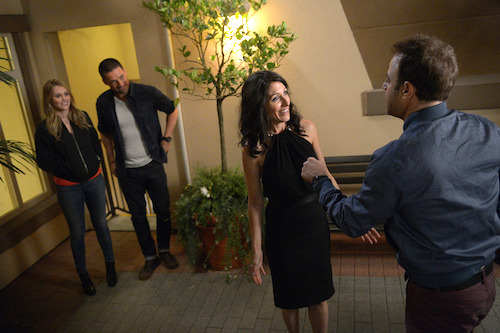 Jake and Abby argue in Girlfriends Guide to Divorce episode 5