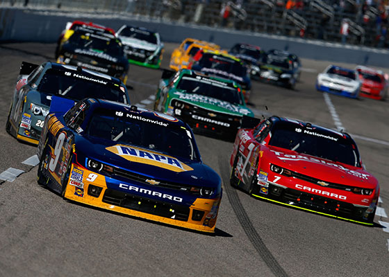 2015 NASCAR XFINITY Series TV schedule