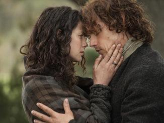 Outlander's Caitriona Balfe and Sam Heughan