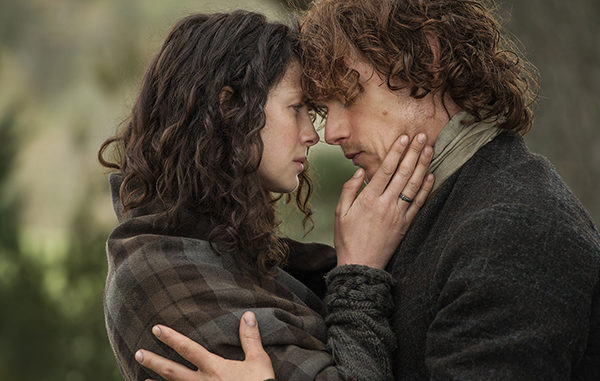 Outlander's Caitriona Balfe and Sam Heughan