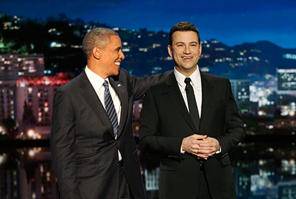¿Cuánto mide Jimmy Kimmel? - Altura - Real height PrezandJimmy