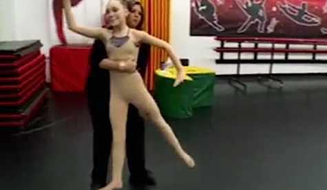 Dance Moms Elliana W. Takes the 10 Minute Photo Challenge.