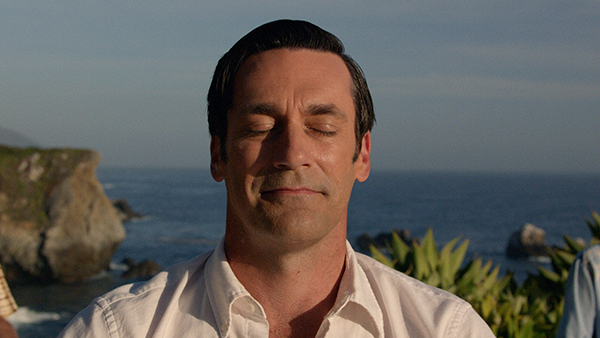 Don Draper in Mad Men series finale