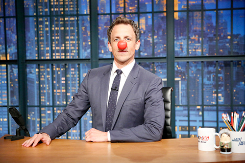Red Nose Day Seth Meyers