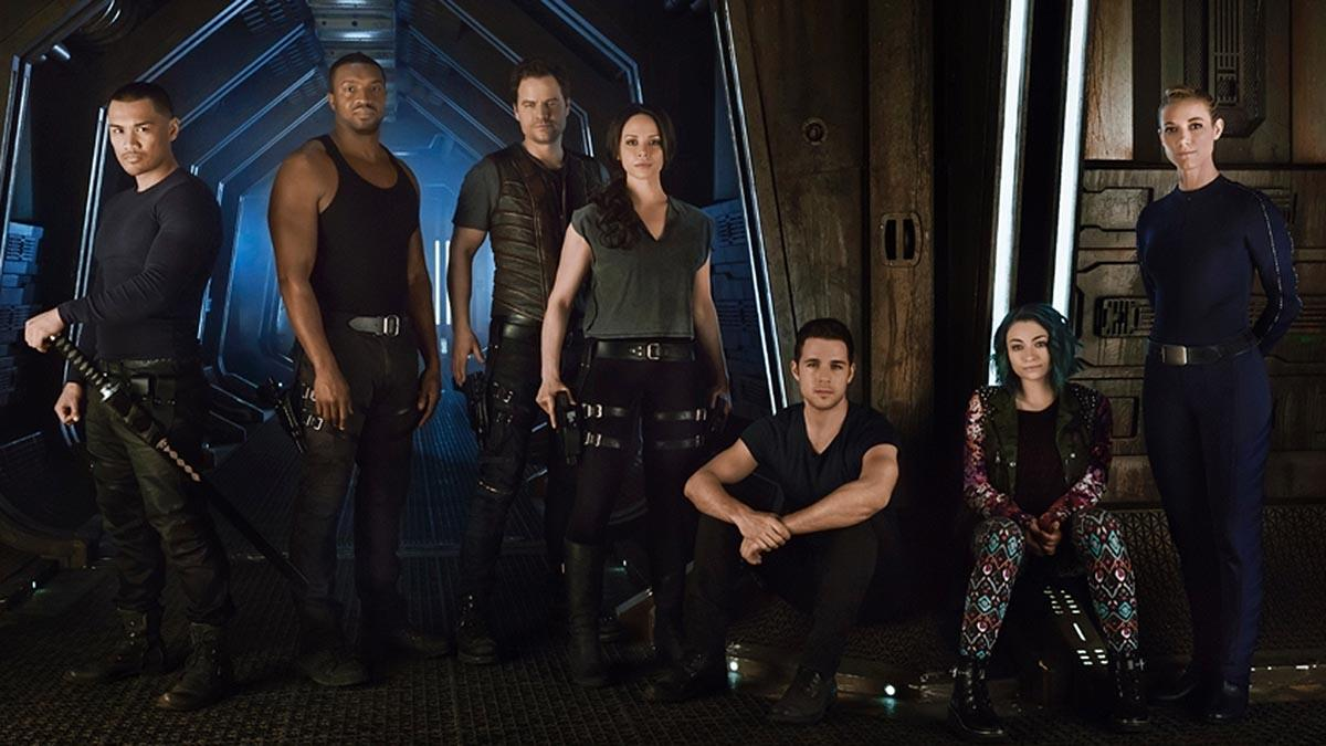 The Best Dark Matter Tv Series Cast Pics