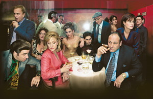 The Cast of the Sopranos.