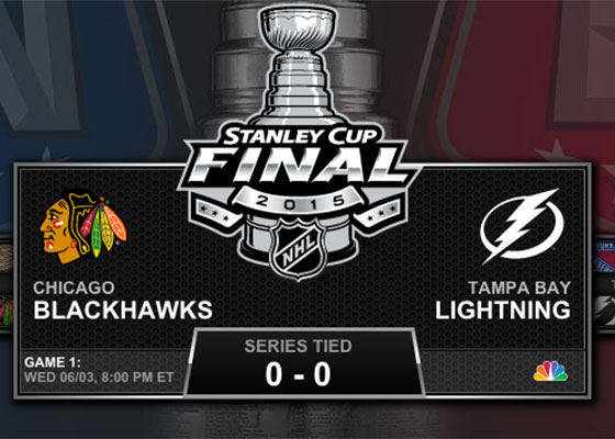 NHL Stanley Cup Final 2015 TV schedule