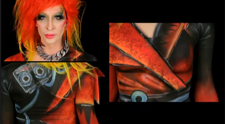 Aryn's winning design Skin Wars season 2 episode 4