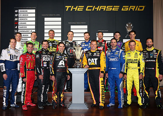 2015 NASCAR Chase drivers