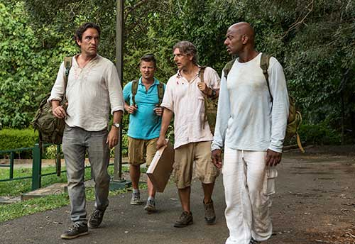 "Ben Chaplin, Steve Zahn, Michael Imperioli and Romany Malco in ""Mad Dogs."""