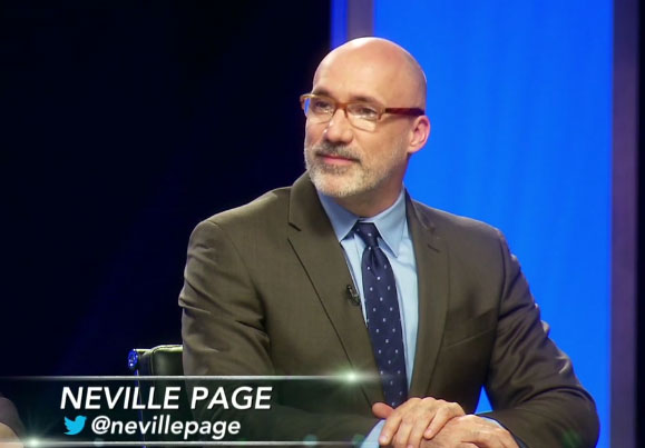 Face Off judge Neville Page