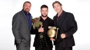 Triple H, Finn Balor, William Regal