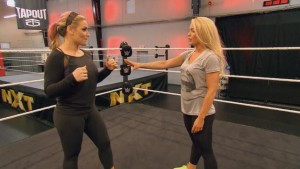 Natalya and Mandy train