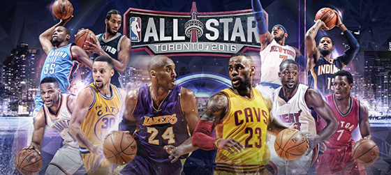 2016 NBA All-Star Weekend TV coverage on TNT and NBA TV