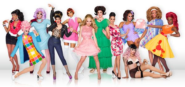 RuPauls Drag Race Season 8 cast