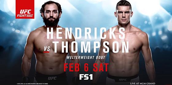 FS1 UFC Fight Night Hendricks vs. Thompson