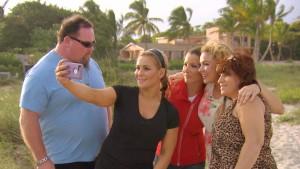 Natalya and family
