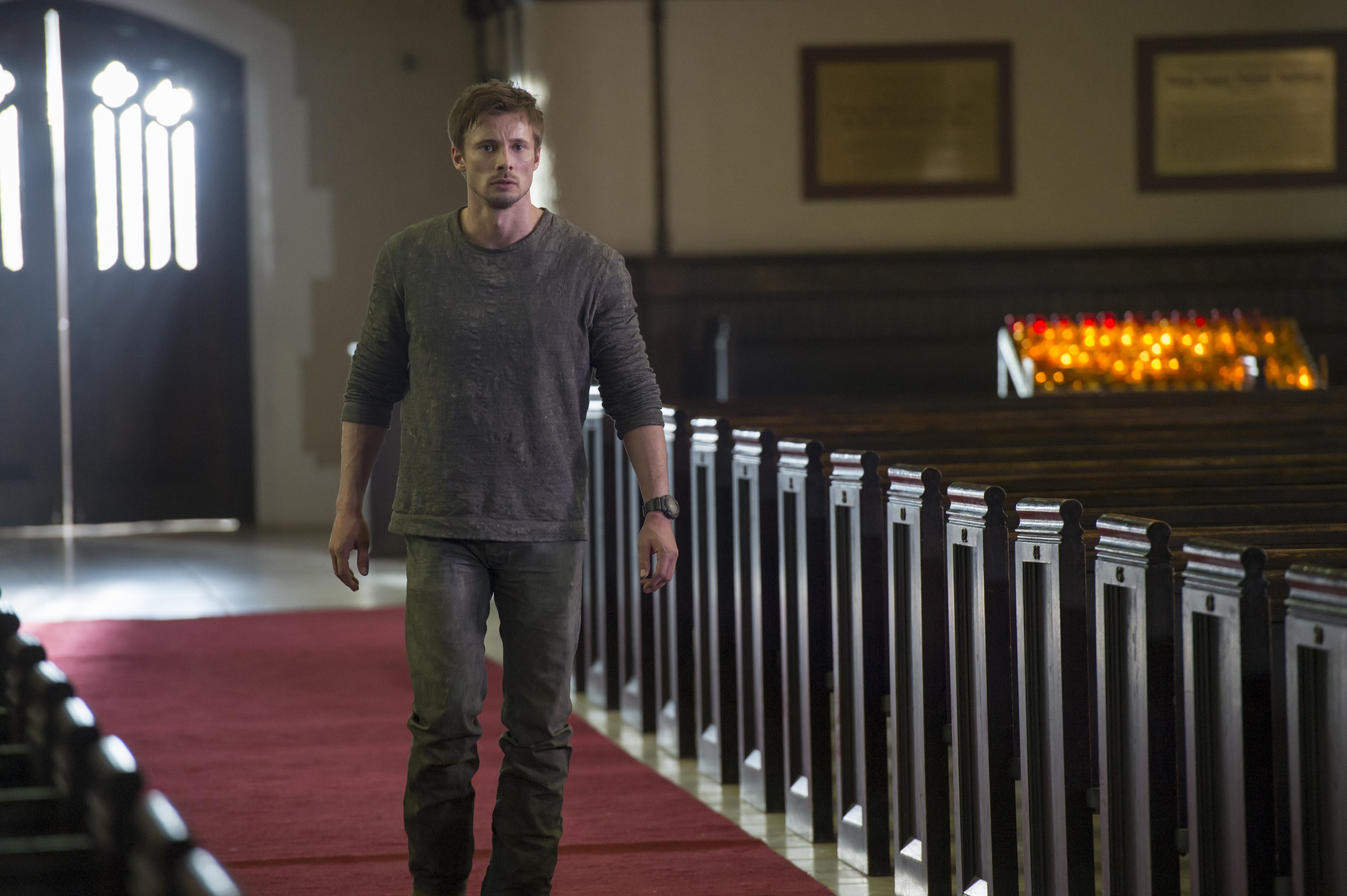 Damien star Bradley James
