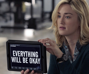 """BLINDSPOT -- """"Erase Weary Youth"""" Episode 113 -- Pictured: Ashley Johnson as Patterson -- (Photo by: Giovanni Rufino/NBC)"""