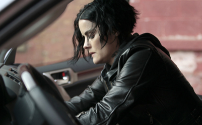 "BLINDSPOT -- ""Older Cutthroat Canyon"" Episode 115 -- Pictured: Jaimie Alexander as Jane Doe -- (Photo by: Giovanni Rufino/NBC)"
