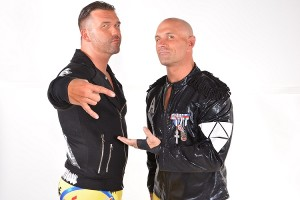 Christopher Daniels and Frankie Kazarian make up The Addiction. (Photo Courtesy:
