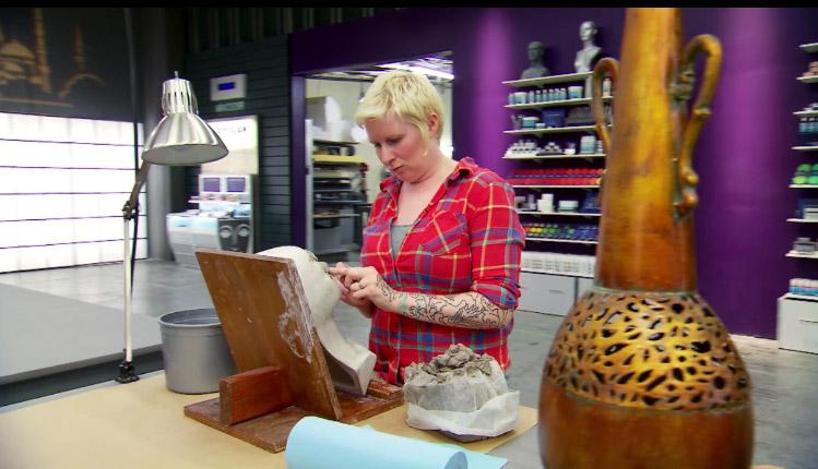 Melissa vessel Face Off Season 10 episode 9