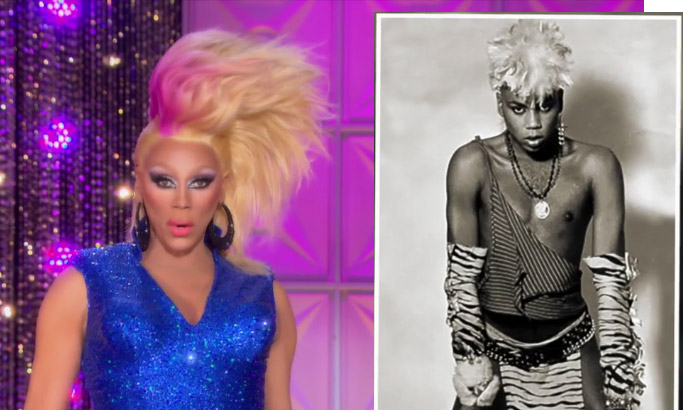 RuPaul now & then RuPaul's Drag Race season 8 episode 4